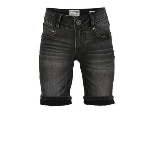 Vingino jeans bermuda Charlie donkergrijs
