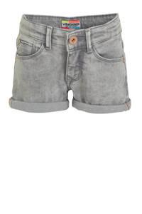 Vingino jeans short Dewy lichtgrijs, Lichtgrijs