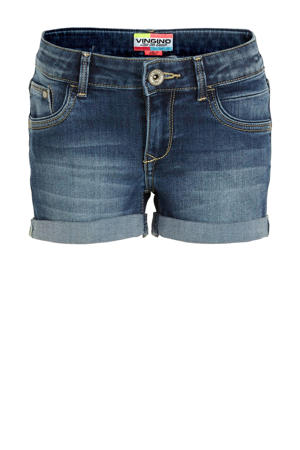 jeans short Damara mid blue wash