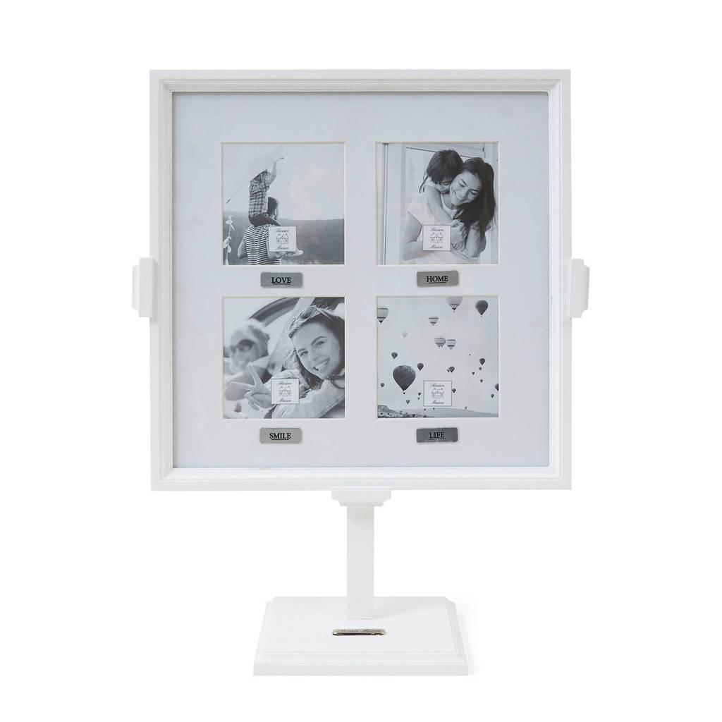 Riviera Maison fotolijst Love & Smile (13,5x34,5 cm), Wit