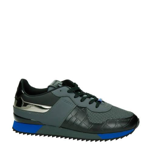 Cruyff Cosmo sneakers antraciet/blauw