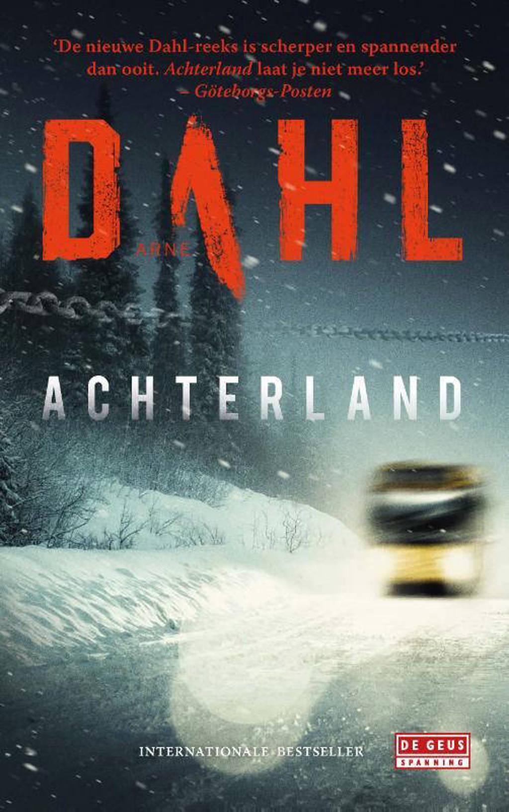 Achterland - Arne Dahl