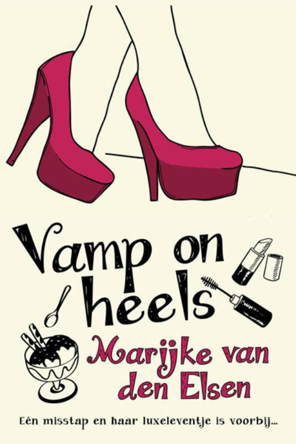 Vamp on heels - Marijke van den Elsen