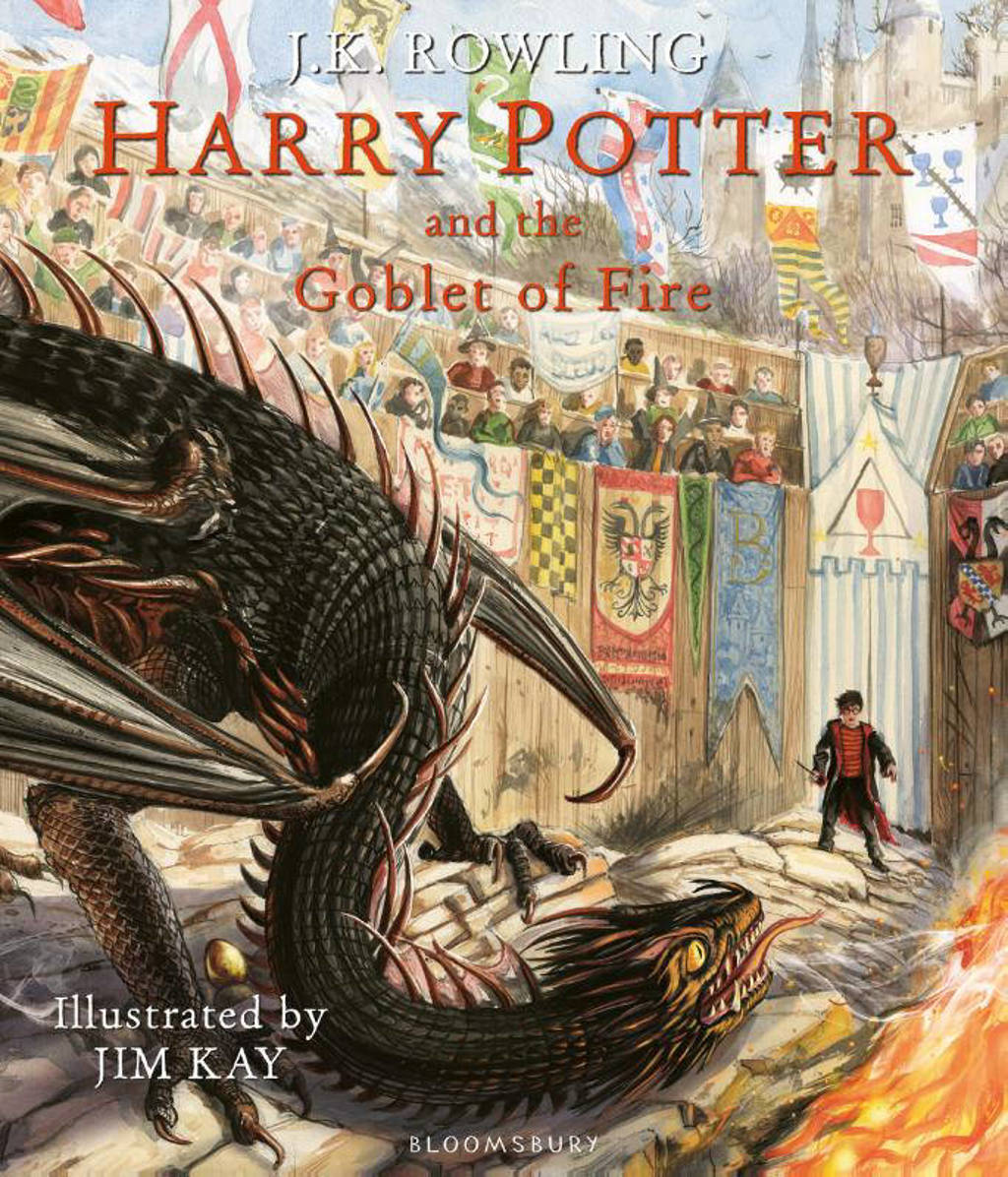Harry Potter and the Goblet of Fire Illustrated edition - J.K. Rowling