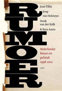 Rumoer - Jean Tillie, Joop van Holsteijn, Henk van der Kolk, e.a.