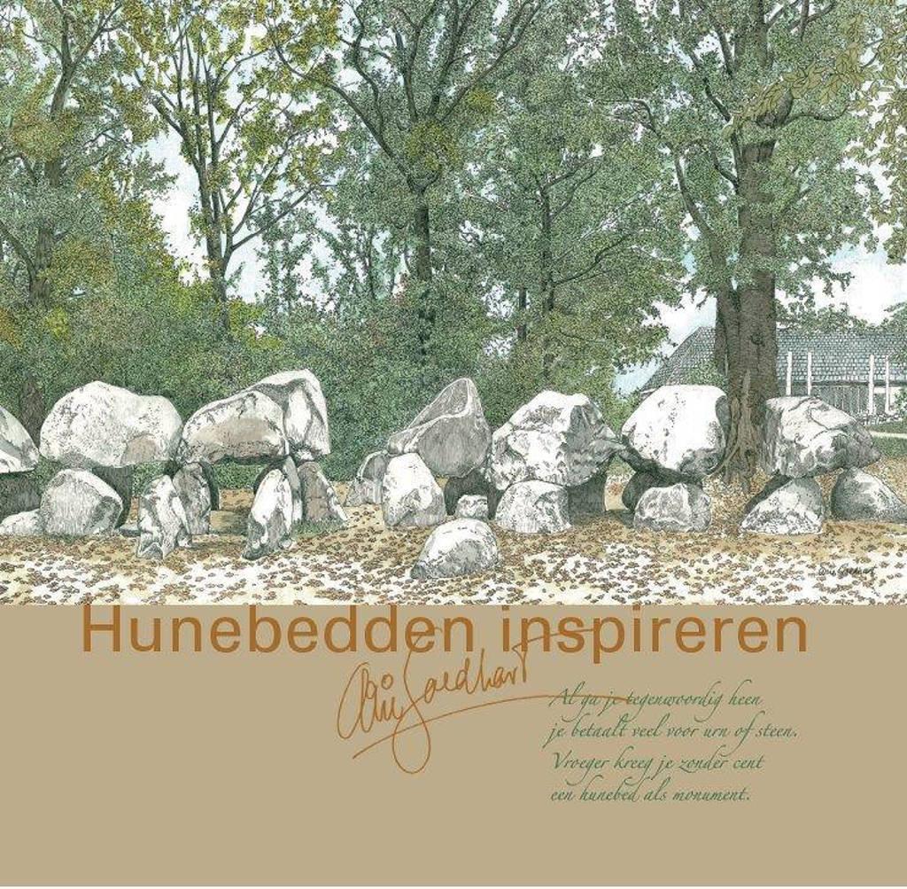 Hunebedden inspireren - Arie Goedhart