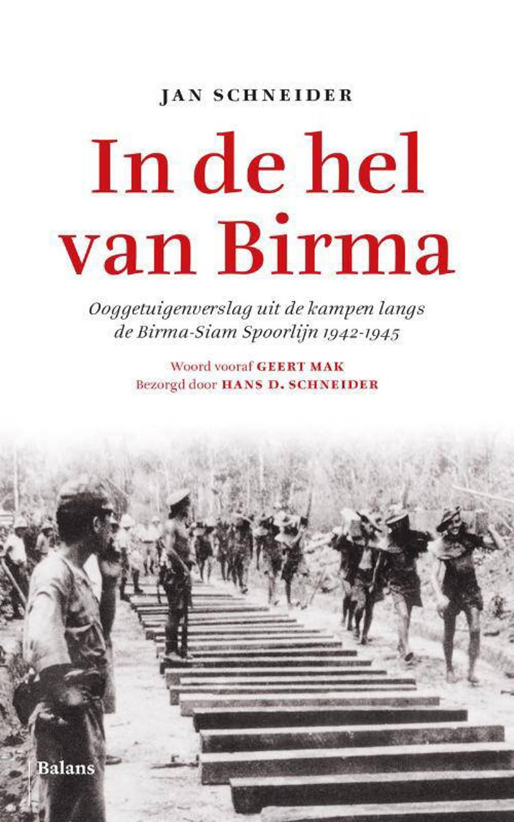 In de hel van Birma - Jan Schneider