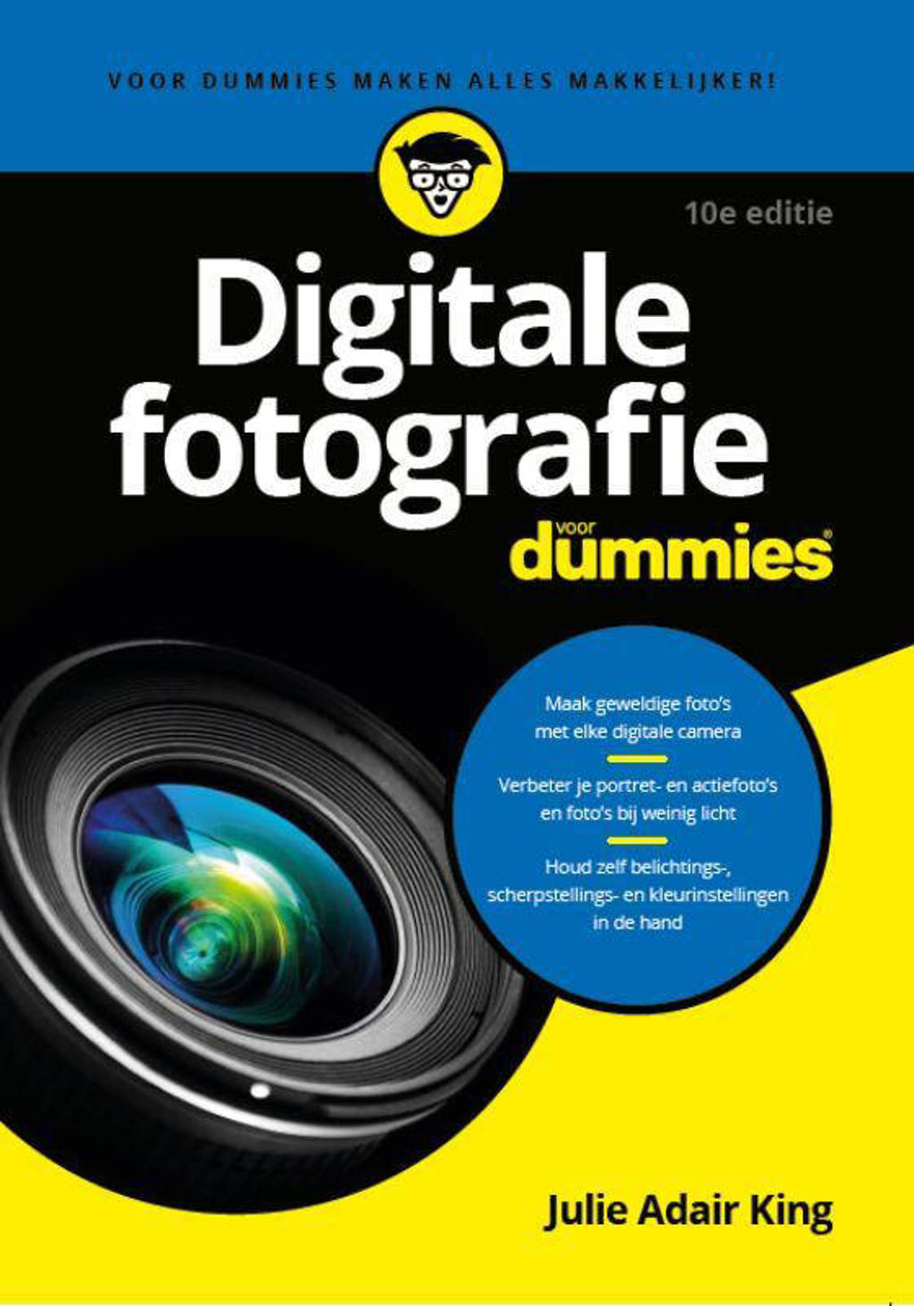 Digitale fotografie voor Dummies, 10e editie - Julie Adair King