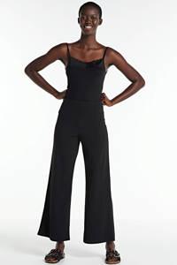 SisterS Point high waist loose fit broek zwart, Zwart
