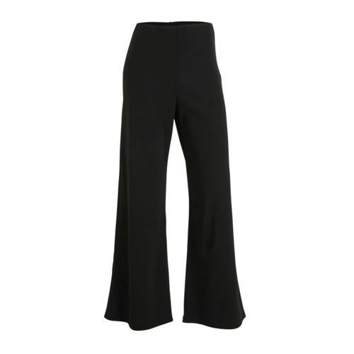SisterS Point high waist loose fit broek zwart