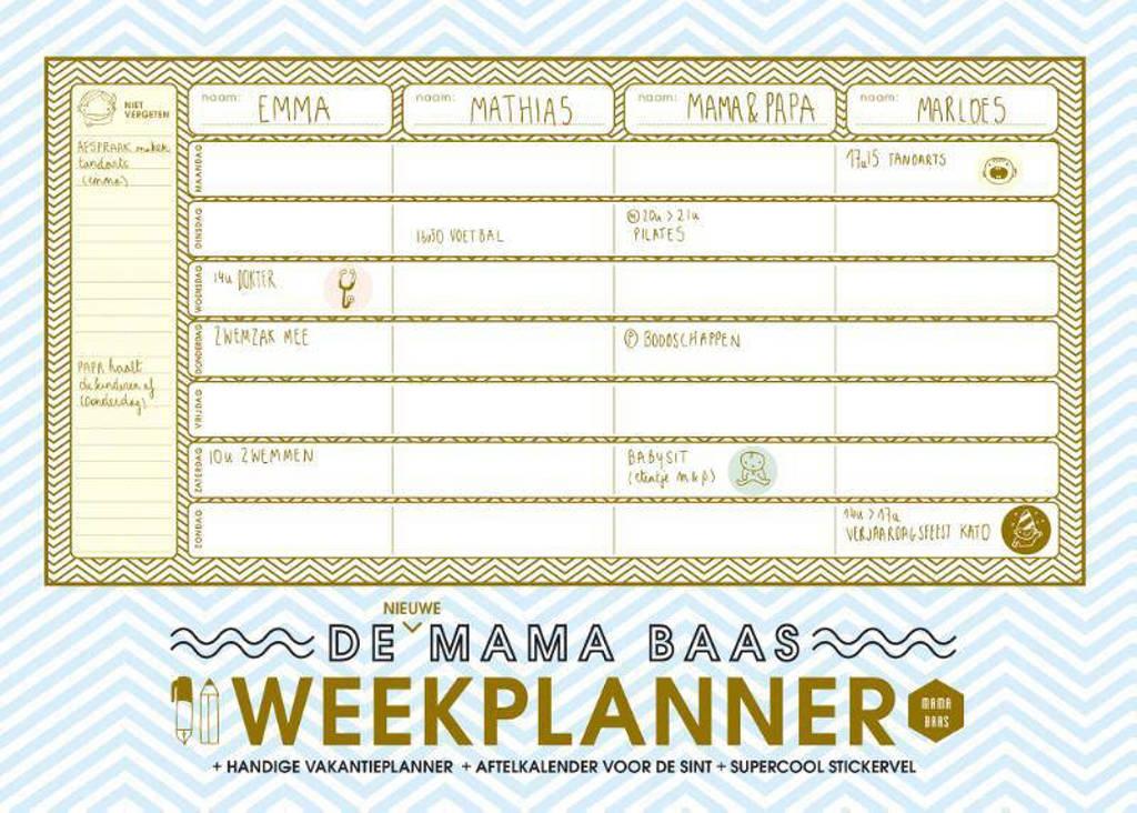 Mama Baas: De nieuwe Mama Baas weekplanner - Mama Baas