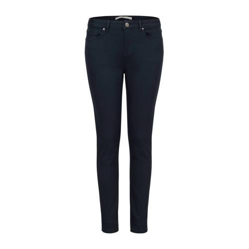 Steps slim fit broek donkerblauw