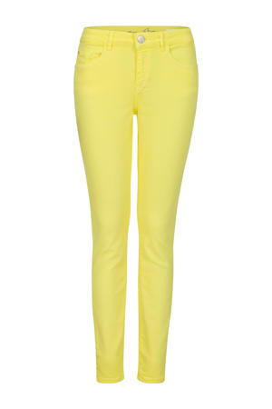 skinny broek geel