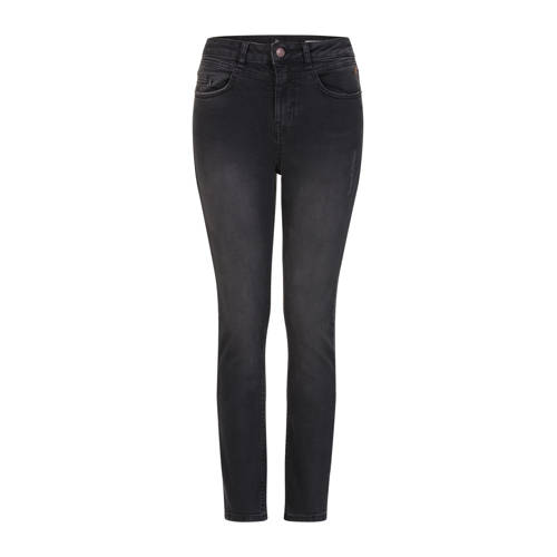 Miss Etam Regulier high waist slim fit jeans zwart