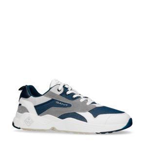 Nicewill  suède sneakers blauw/grijs