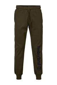 Timberland regular fit joggingbroek met logo khaki, Khaki