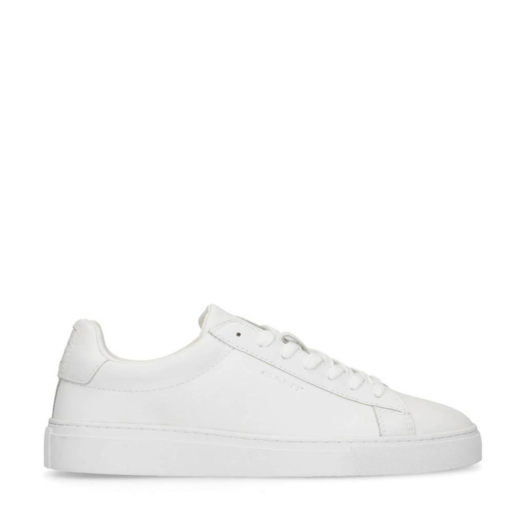 GANT MC Julien  leren sneakers wit, Wit
