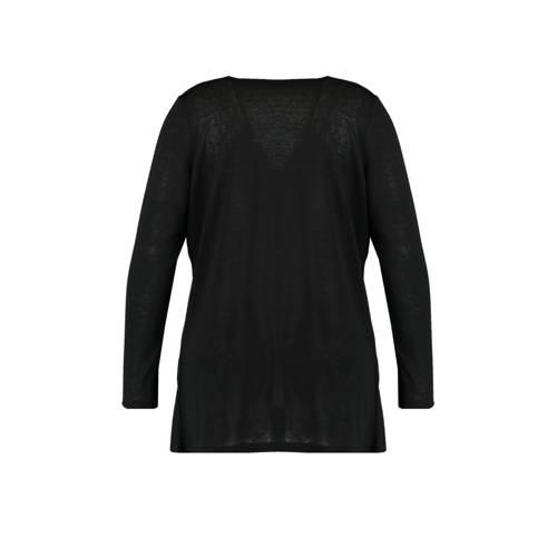 MS Mode vest zwart