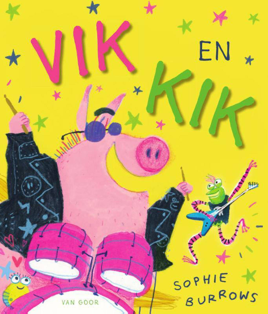 Vik en Kik - Sophie Burrows