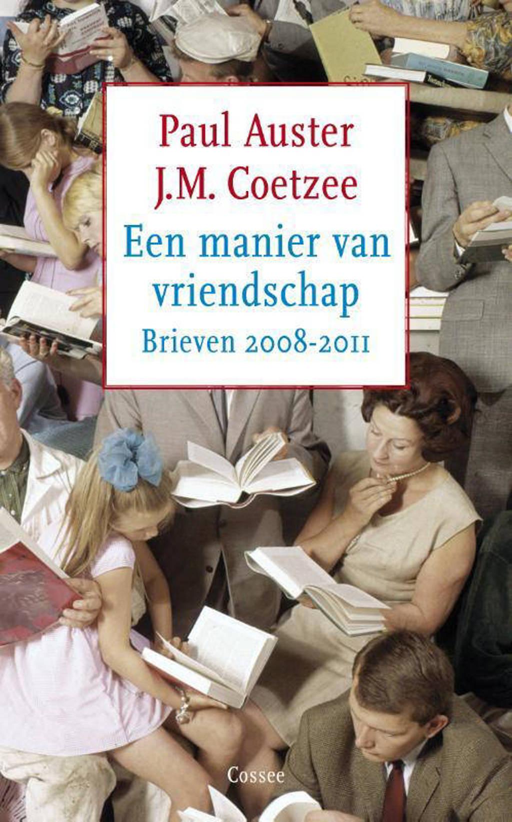 Een manier van vriendschap - J.M. Coetzee en Paul Auster