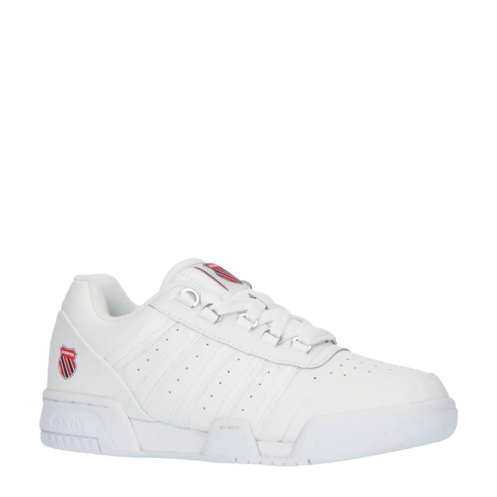 K-Swiss Gstaad '86  leren sneakers wit, Wit