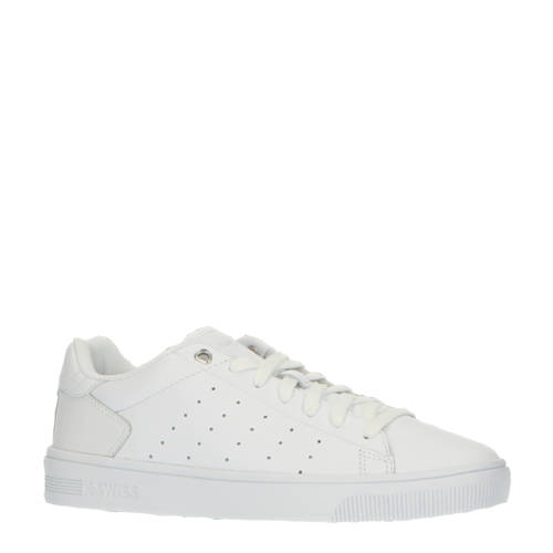 K-Swiss Court Frasco II leren sneakers wit