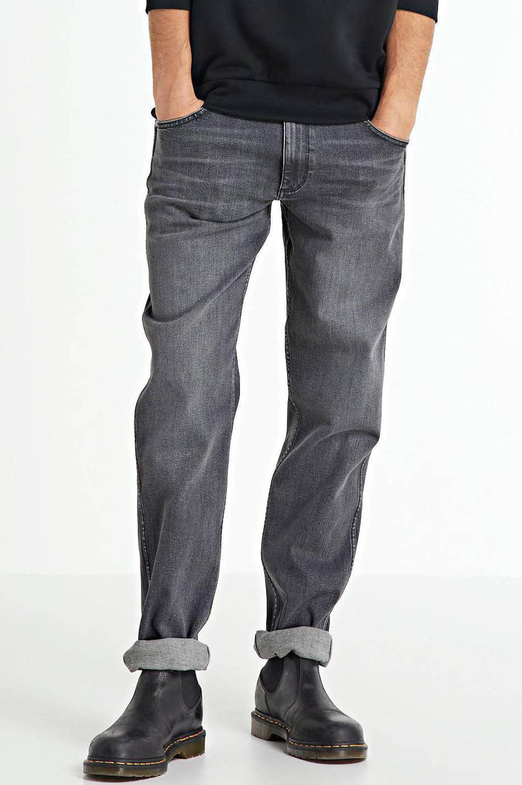Wrangler regular fit jeans Greensboro black smoke, Black Smoke