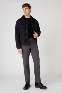Wrangler straight fit jeans Texas grijs, Grijs