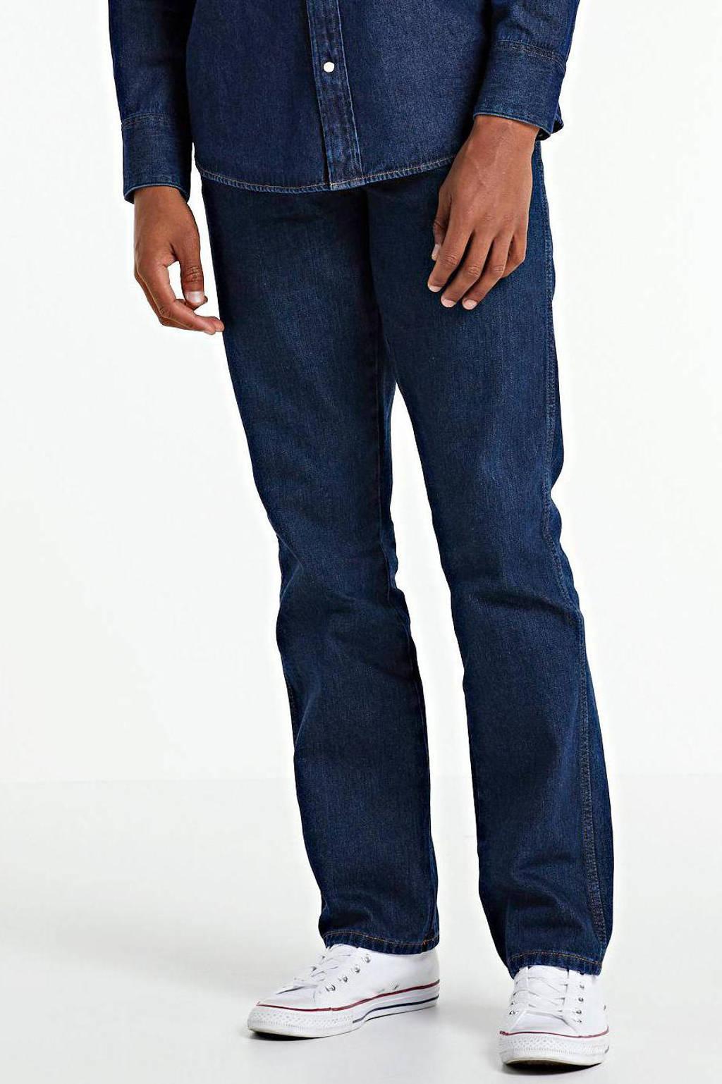 Wrangler straight fit jeans Texas darkstone, Darkstone