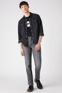Wrangler straight fit jeans Texas dusty granite, Dusty Granite