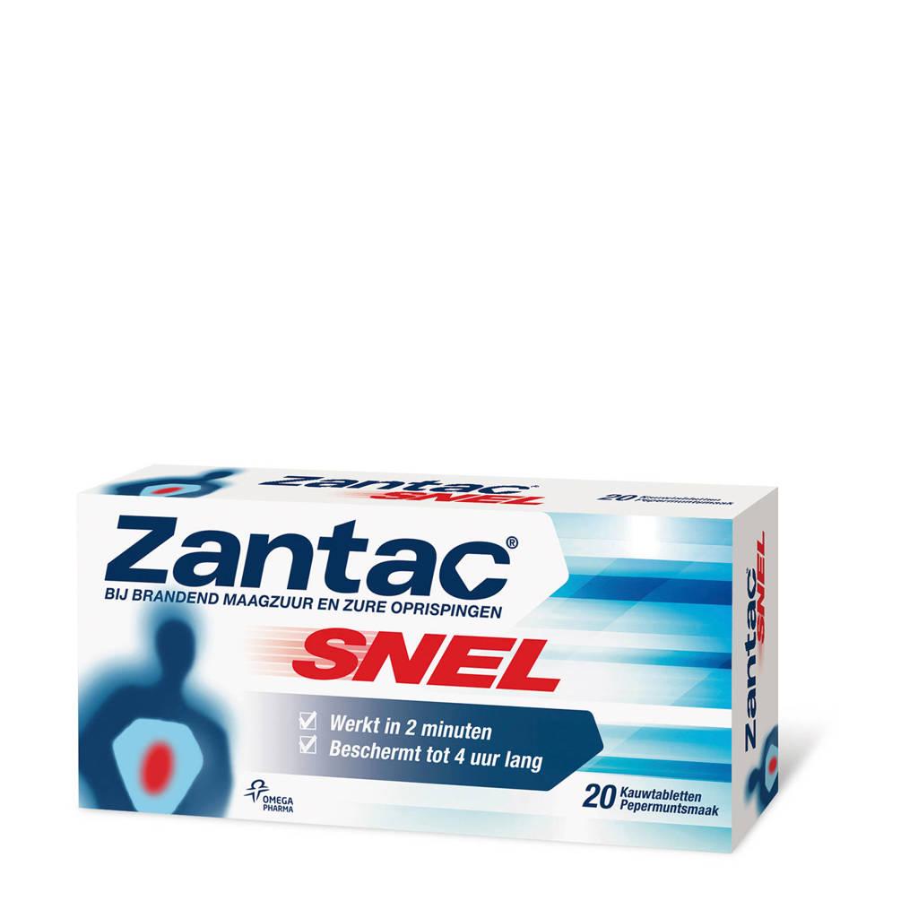 Zantac Snel Tabletten