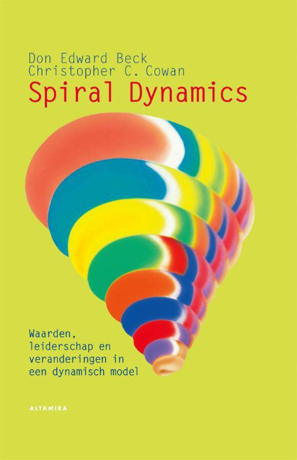 Spiral dynamics - Don Edward Beck en Christopher C. Cowan