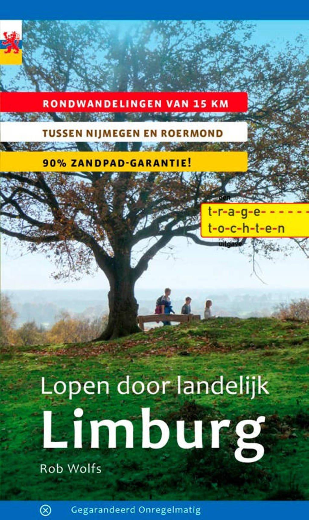 Lopen door landelijk Limburg - Rob Wolfs