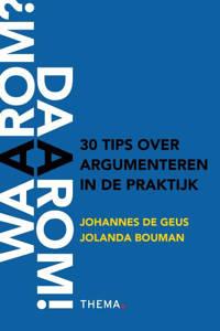 Waarom daarom - Johannes de Geus en Jolanda Bouman