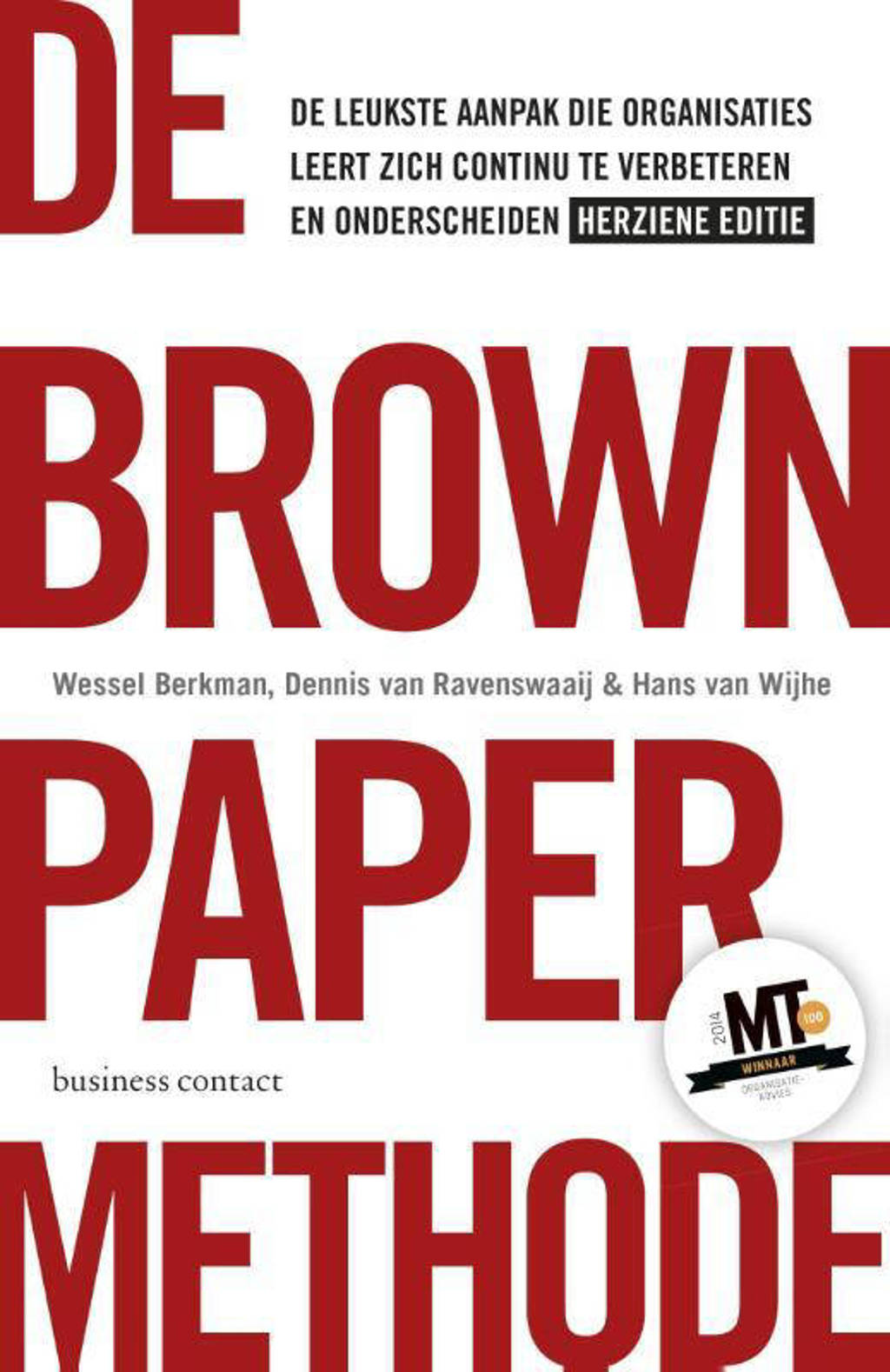 De brown paper methode herziene editie - Wessel Berkman