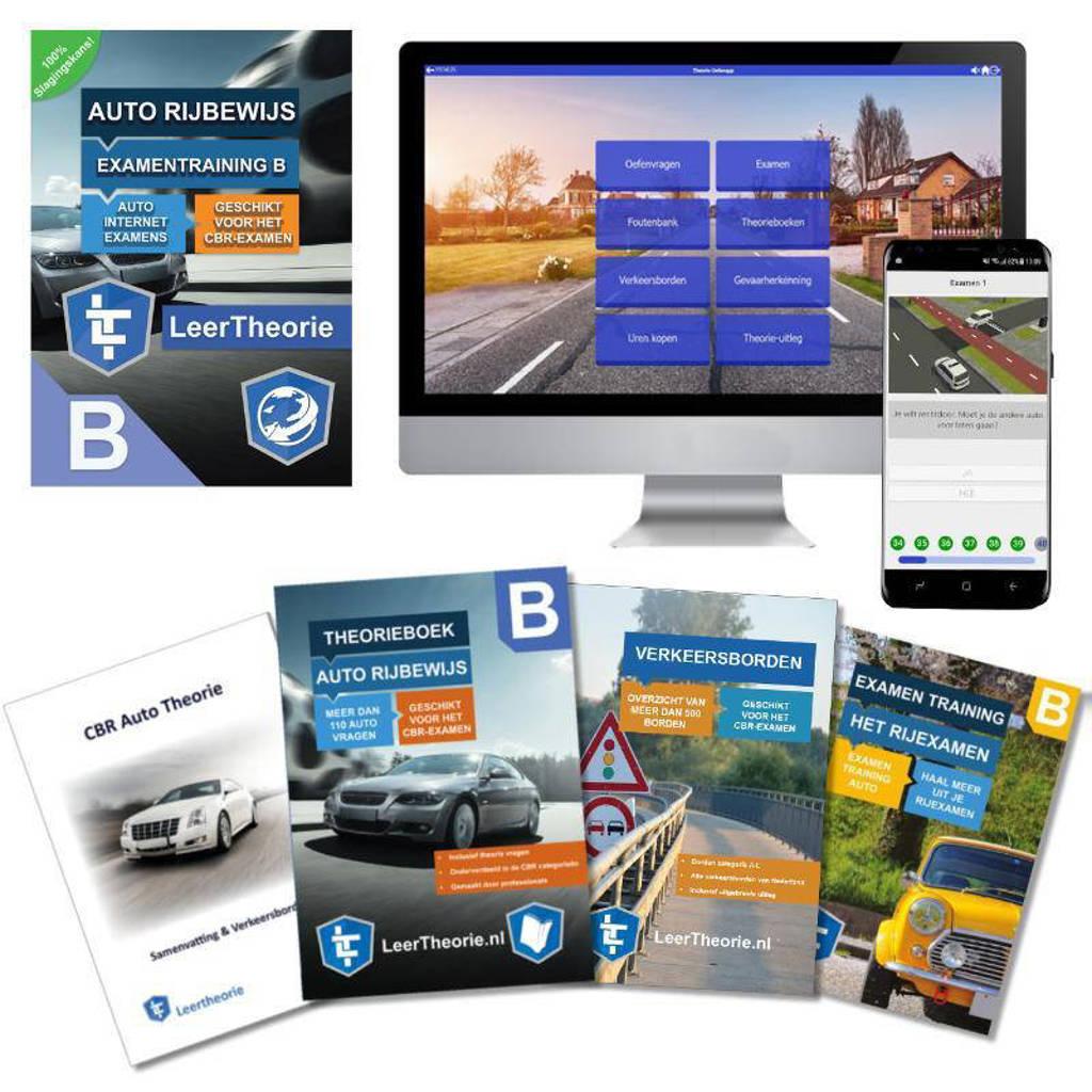 Theorieboek Auto Rijbewijs B 2020 | Auto Theorieboek | Auto Theorie Samenvatting | Verkeerborden overzicht | Praktijk informatie | 20 UUR online Auto Theorie-examens |