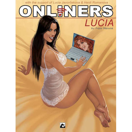 Onliners. Lucia, Mensink, Frans, Paperback