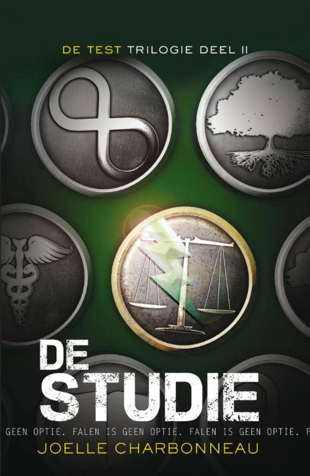 De test-trilogie: De studie - Joelle Charbonneau