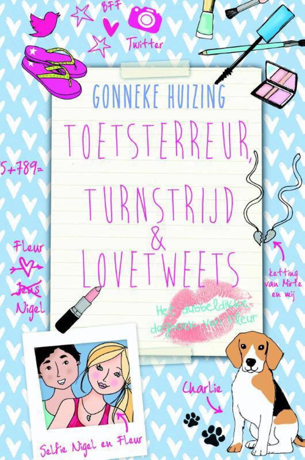 Toetsterreur, turnstrijd en lovetweets - Gonneke Huizing