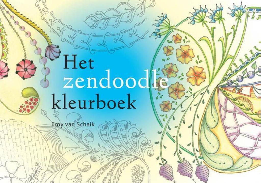 Het zendoodle-kleurboek - Emy van Schaik