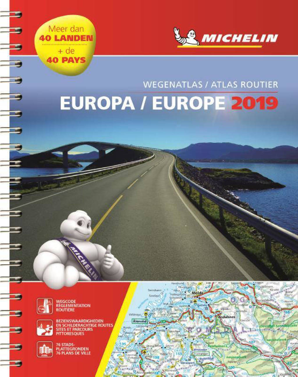 ATLAS MICHELIN EUROPE 2019