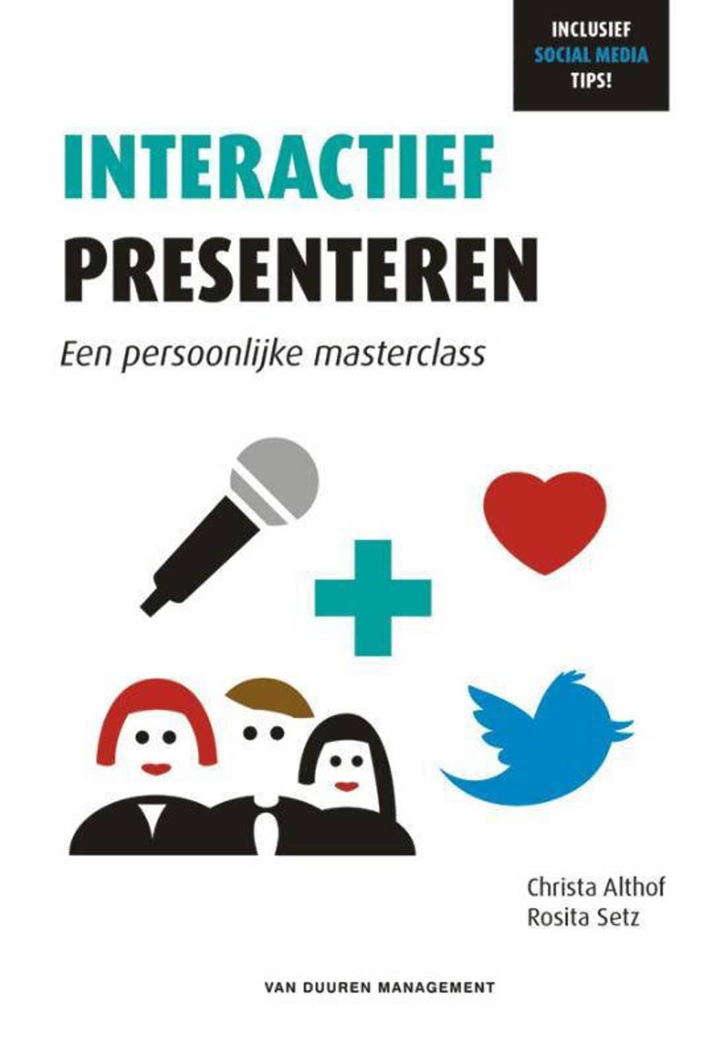 Interactief presenteren - Christa Althof en Rosita Setz