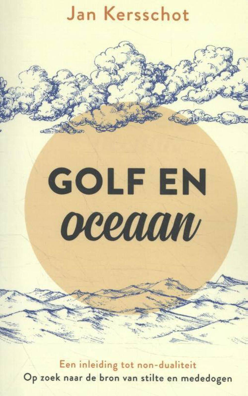 Golf en oceaan - Jan Kersschot