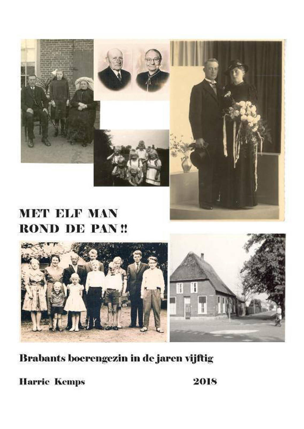 Met elf man rond de pan - Harrie Kemps