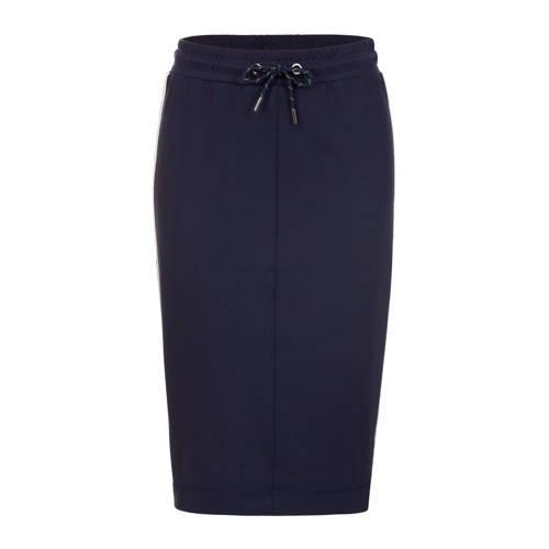 PROMISS rok met contrastbies donkerblauw