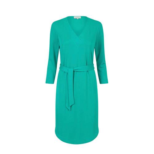 PROMISS jersey jurk en ceintuur turquiose, Deze damesjurk van PROMISS is gemaakt van modal. De jurk heeft verder een V-hals en driekwart mouwen.Bestel je voor de eerste keer bij Promiss en twijfel je over de juiste maat? Wij adviseren je om te kiezen voor een maat kleiner dan je doorgaans draagt.details van deze jurk:• een ceintuurExtra gegevens:Merk: PROMISSKleur: BlauwModel: Jurk (Dames)Voorraad: 8Verzendkosten: 0.00Plaatje: Fig1Plaatje: Fig2Maat/Maten: XXLLevertijd: direct leverbaarAanbiedingoude prijs: € 69.95
