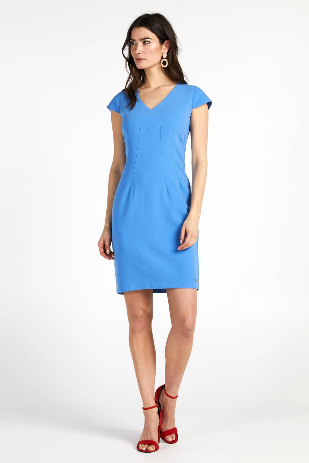 Steps jurk blauw, Blauw