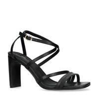 Sacha   sandalettes zwart, Zwart