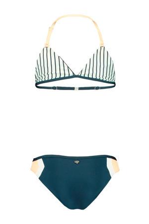 reversible triangel bikini Aileen donkerblauw