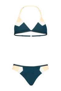 America Today Junior reversible triangel bikini Aileen donkerblauw, Navy